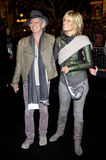 Keith Richards and Patti Hansen Royalty Free Stock Image