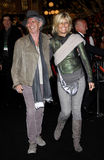 Keith Richards and Patti Hansen Stock Photography