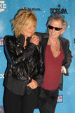 Keith Richards,Patti Hansen. Patti Hansen and Keith Richards at Spike TV's 'Scream 2009!'. Greek Theatre, Los Angeles, CA. 10-17-09 Royalty Free Stock Photos