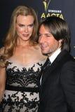 Keith Urban, Nicole Kidman Stock Images