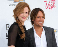 Keith Urban, Nicole Kidman Stock Photo