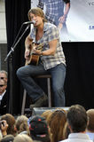 Keith Urban performing live. At a Pasadena Verizon Wireless store; Verizon Wireless and Samsung Mobile Team with Keith Urban for an acoustic performance for Stock Image