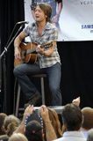 Keith Urban performing live. At a Pasadena Verizon Wireless store; Verizon Wireless and Samsung Mobile Team with Keith Urban for an acoustic performance for Royalty Free Stock Images