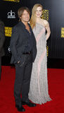 Keith Urban y Nicole Kidman Imagen de archivo