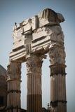 Keizer Forum, Rome, Italië Stock Foto's