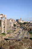 Keizer forums in Rome Stock Foto