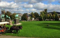 Keizer paleis in goslar stock afbeelding