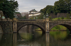 Keizer Paleis in Japan Stock Afbeeldingen