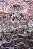 Keizer ` s Friedrich Barbarossa Monument in Kyffhhauser, Duitsland Stock Foto