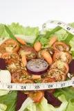 Keizer tomatensalade royalty-vrije stock afbeeldingen