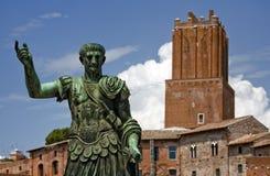 Keizer Trajan Stock Foto
