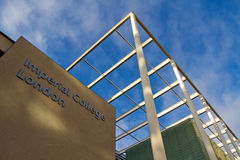 Keizer Universiteit Londen Stock Foto's