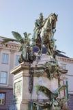 Keizer Wilhelm Monument, Dusseldorf Stock Foto