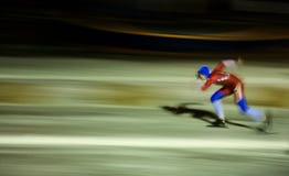 Keizergracht Ice Skating Race Royalty Free Stock Photos