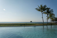 Keizerhotel zwembad, Brunei Stock Foto's