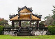 Keizerpaleis in Tint, Vietnam royalty-vrije stock fotografie