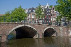 Keizersgracht Amsterdam Stock Image