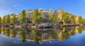 Keizersgracht panorama Royalty Free Stock Images