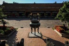 Keizerstad van Tint, Thua-thien-Tint, Tint, Vietnam stock afbeeldingen