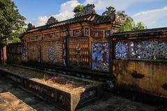 Keizerstad van Tint, Thua-thien-Tint, Tint, Vietnam stock foto