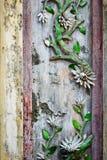 Keizerstadstint, Vietnam, Pijlerdecoratie in de Verboden Stad van Tint royalty-vrije stock foto