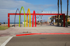 Keizerstrand Californië royalty-vrije stock fotografie