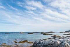 Keji nadmorski wybrzeże Obrazy Stock