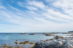 Keji Seaside coast. (South Shore, Nova Scotia, Canada Stock Images