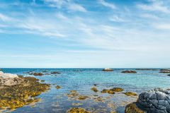 Keji Seaside coast. (South Shore, Nova Scotia, Canada Royalty Free Stock Photography