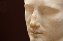 Kejsare Augustus Close-Up Arkivfoton