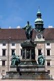 kejsare franz mig monument Arkivbilder