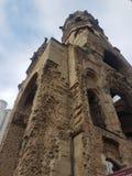 Kejsare Wilhelm Memorial Church i Berlin fotografering för bildbyråer