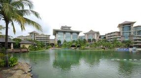 Kejsarehotell i Brunei Royaltyfria Foton
