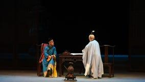 """Kejsaren och den Taoistpräst-Shanxi Operatic""""Fu shanen till Beijing† arkivfilmer"""