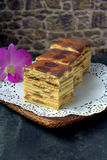 Kek Lapis- Layered Cake Stock Images