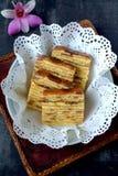 Kek Lapis- Layered Cake Stock Image