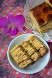 Kek Lapis- Layered Cake Stock Photography