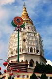 kek lok马来西亚塔槟榔岛si寺庙 库存图片