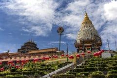 Kek Lok Si,佛教寺庙在槟榔岛马来西亚 免版税库存照片