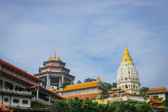 Kek Lok Si świątynia w George Town, Penang, Malezja obraz stock