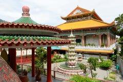 至尊极乐Kek Lok Si,槟榔岛寺庙  库存照片