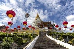 Kek Lok Si, buddistisk tempel i Penang Malaysia royaltyfri bild