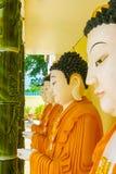 Kek Lok Si China tempel i buddh för George Town Penang slut upp till royaltyfria bilder