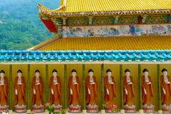 Kek Lok Si China tempel i George Town Penang buddahstatyer arkivfoton