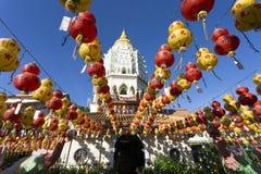 Kek Lok Si Chinese Buddhist Temple Penang Malaysia arkivbild
