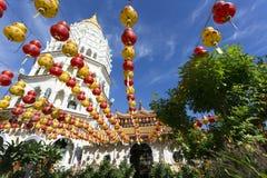 Kek Lok Si Chinese Buddhist Temple Penang Malaysia royaltyfri bild