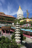 Kek Lok Si Chinese Buddhist Temple Penang Malaysia royaltyfri fotografi