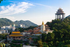 Kek Lok Si Chinese tempel Arkivbilder