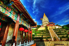 Kek Lok Si in HDR Stock Images