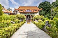 Kek Lok Si podwórze zdjęcia stock